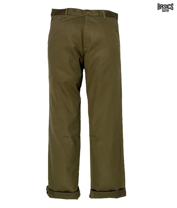 BASICS 029 Trouser 10BTR22755-MBR-FF