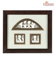 Aapno Rajasthan HandCrafted Tribal Metal Craft With Rosewood Frame_08
