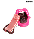 Aashrit Tongue Style Landline Phone (Pink)