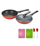Wonderchef Sanjeev Kapoor PN Diamond Coated Pans With Freebie