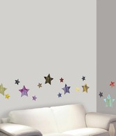 Plage Star City Wall Sticker