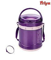 Priya Pride Violet Tiffin Box With 3 Containers