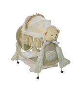 Harry & Honey Cream Baby Bassinet