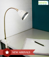 Renata LED Grey Clamp Light
