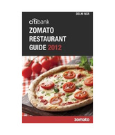 Citibank Zomato Restaurant Guide 2012: Delhi-Ncr