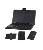 Callmate Keyboard Leather Case for All 7 inches Tablet