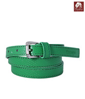 Espana Smart Green Fish Net Embossed Ladies Belt