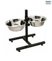 Durapet Ajd Double Dinner Stand (Medium) - For Dogs