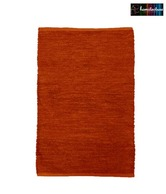 Homitecture Orange Poly Lurex Bathmat