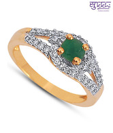 Sukkhi CZ Studded Enchanting Ring