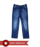 612 Ivy Dark Blue Jeans For Kids