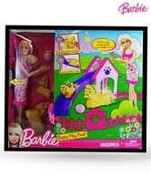 Barbie Puppy Play Park With Doll