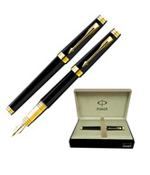 Parker Premier Laque Blk GT Fountain Pen (Medium Nib)