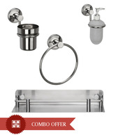 Regis Stainless Steel Wash Basin Set 1- Sigma Series