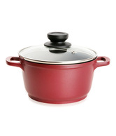 Bergner Red Aluminium Dutch Oven