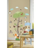 WallDesign Mystical Forest Tree Green Wall Stickers 1