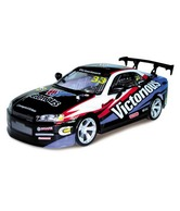 Toy House 4 Channel R/C High Speed PVC Shell Drift Car- Black