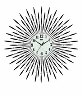 Ajanta Black Wall Clock