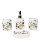 Enfin Homes Multi-colour Bath Set