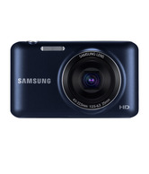 Samsung ES95 16.1MP Point & Shoot Digital Camera (Cobalt Black)