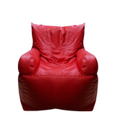 Biggie Red Bean Bag Armchair