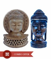 Little India Lord Buddha Decorative With Free Buddha Statue