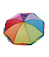 Coal Multicoloured Rainbow 3-Fold Medium Umbrella