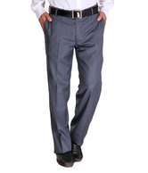 Alano Blue Cotton Trousers
