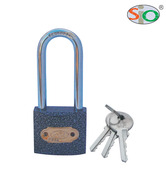 Sio Long Shackle Iron Padlock -50 mm