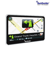 SatGuide - 4.3'' Premium Navi with  Bluetooth (SatGuide map upgrade  worth Rs 990 free)