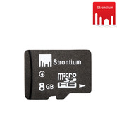 Strontium 8GB MicroSD Memory Card Class 4