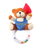 Tollyjoy Baby Rattle-Graduation Bear