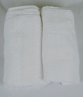 MeSleep Set Of Two White Hand Towels