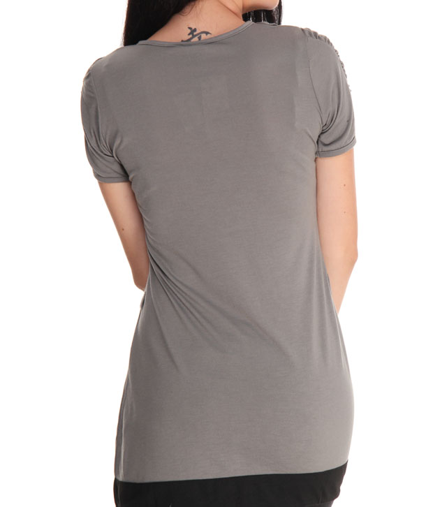 Sepia Exquisite Grey Top