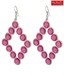 Pretty Woman Pink Structured Earrings