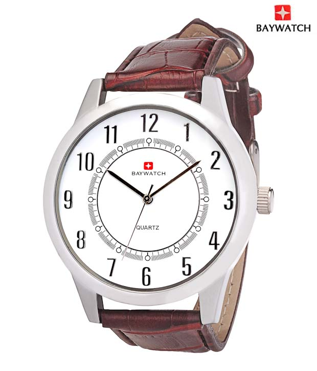 Baywatch Anchor White Watch