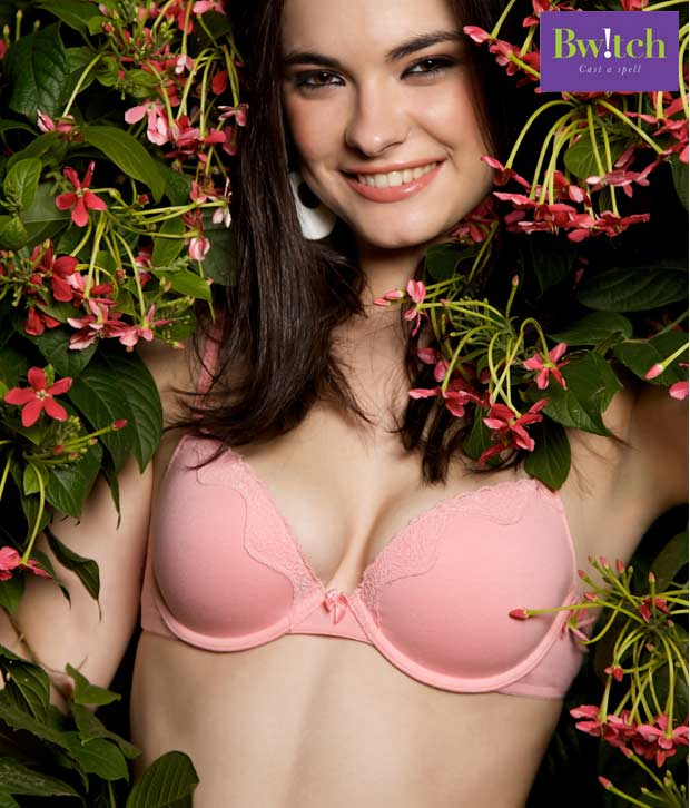 Bwitch Peach Cotton Brassiere