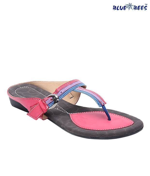 Blue&Bees Smart Red & Blue Sandals