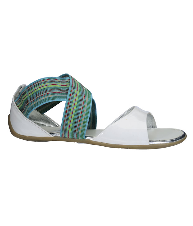 Catwalk Lively White Sandals