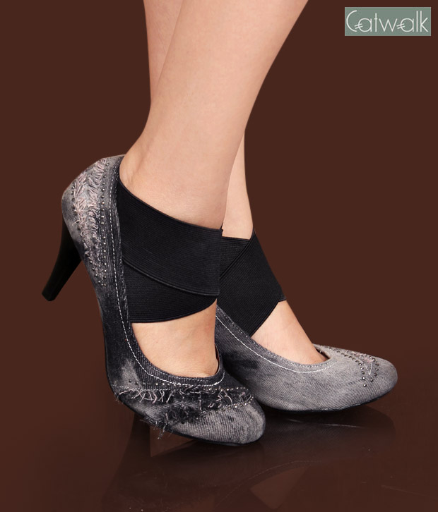 Catwalk Stunning Black Pump Shoes