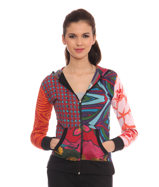 Desigual Kaleidoscopic Reversible Jacket