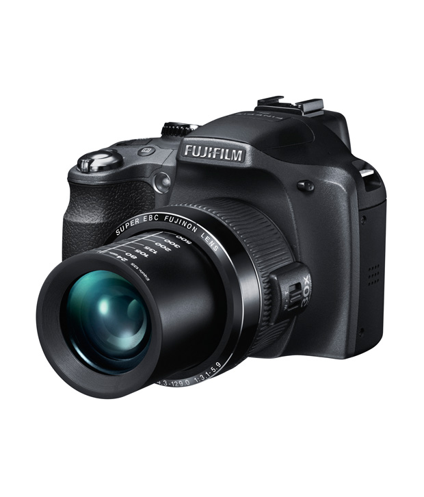 Fujifilm Finepix SL300 14 MP Semi-SLR Camera (Black)
