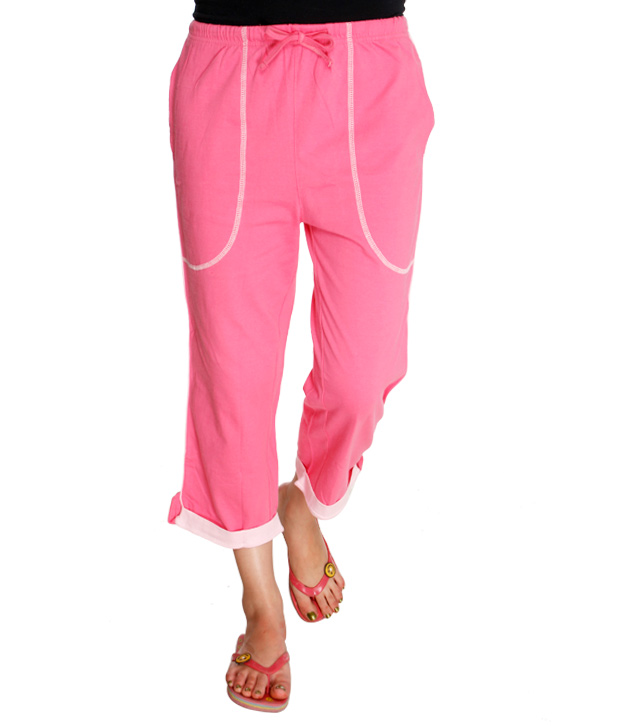 Happy Hours Peppy Pink Capri