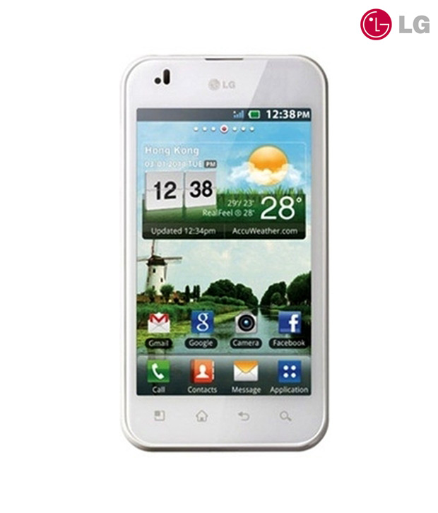 LG Optimus Black P970-White