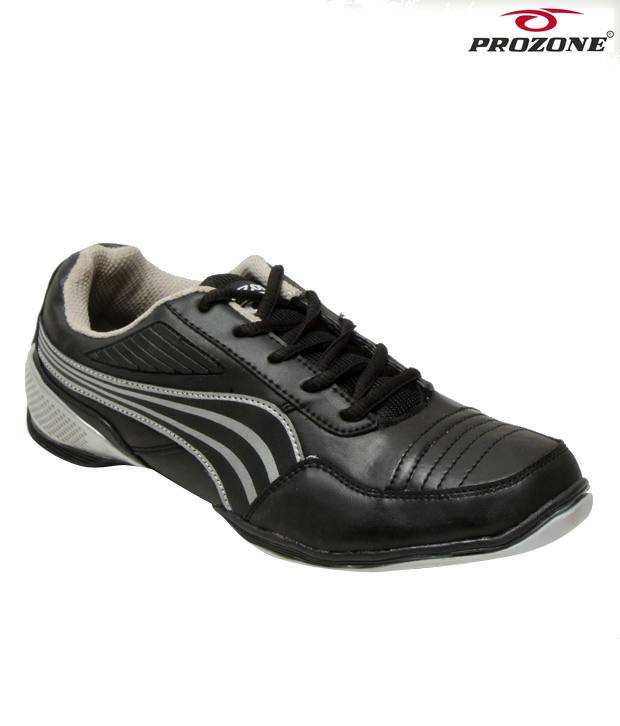 Prozone Charcoal Grey Sports Shoes