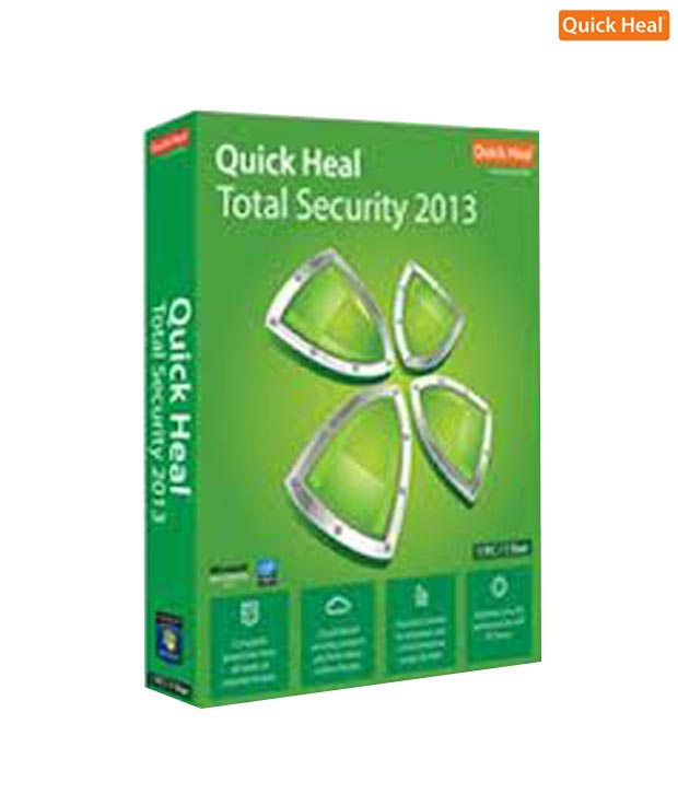 Quick Heal Total Security 2013 (1  User-3 Years)