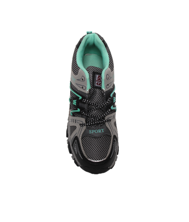 Universal Green & Black Running Shoes