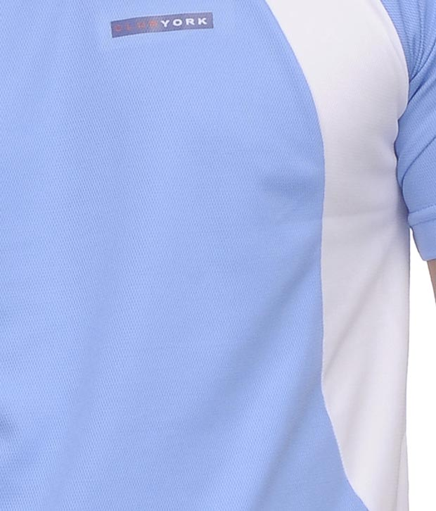 Club York Classic Sky Blue T-Shirt