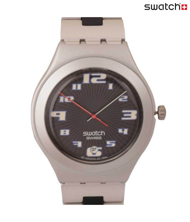 Swatch On Track Metal Watch
