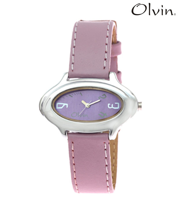 Olvin Charming Purple Watch